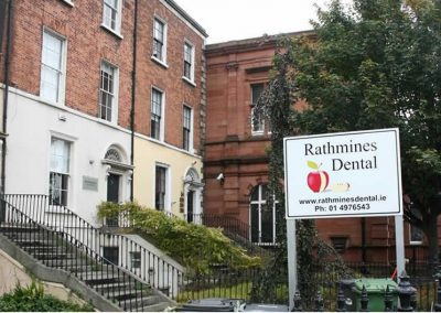 Front garden of Rathmines Dental