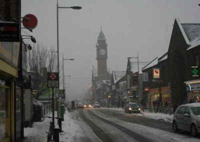 Rathmines in the snow